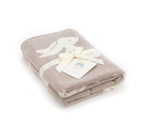 Jellycat Deken Beige Bashful Bunny Blanket