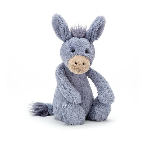 Jellycat Knuffel Ezel Bashful Donkey Medium