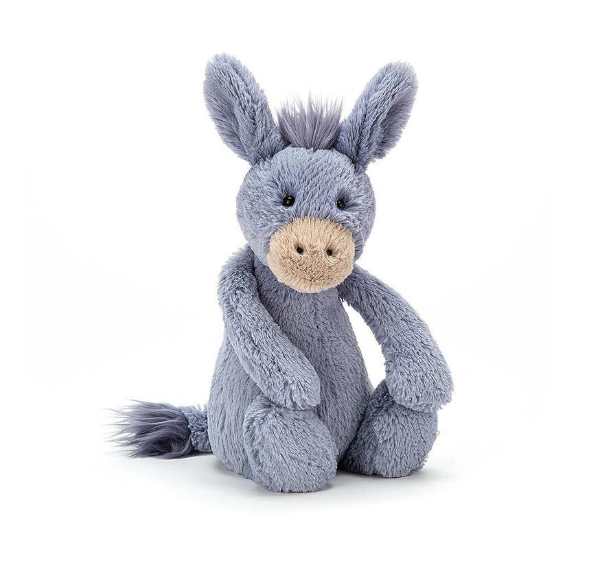 Knuffel Ezel Bashful Donkey Medium