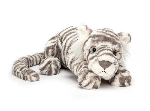 Jellycat Knuffel Tijger Sacha Snow Little