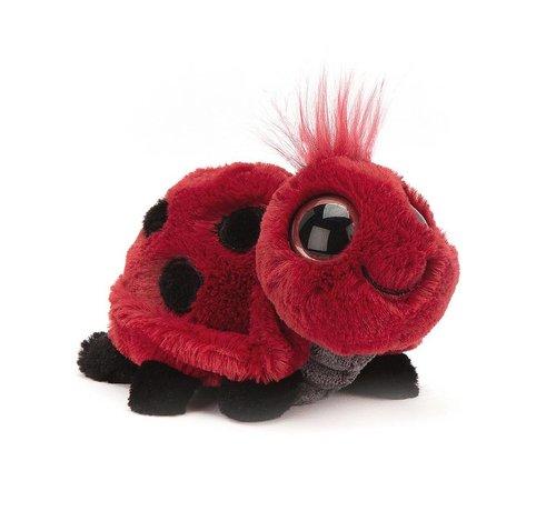 Jellycat Knuffel Lieveheersbeestje Frizzles Ladybird