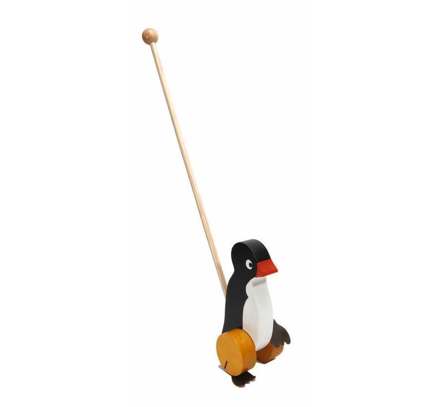 Duwfiguur Pinguïn Hout