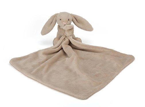 Jellycat Knuffeldoek Konijn Bashful Beige Bunny Soother