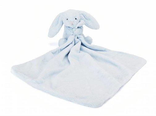 Jellycat Knuffeldoek Konijn Bashful Blue Bunny Soother
