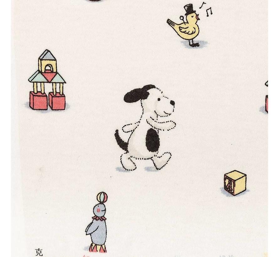 Deken Hond Bashful Puppy Jersey Blanket