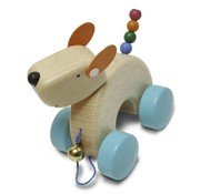 Weizenkorn Trekfiguur Hond Hout