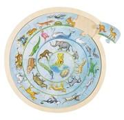 GOKI Puzzel Dierencirkel