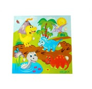 Hess Puzzel Dino Hout