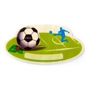 Hess Naambord Kinderkamer Voetbal Hout