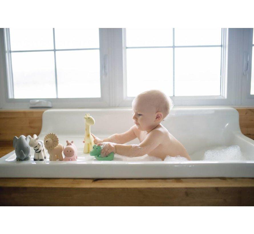 Giraf Bijt- en Badspeelgoed met Rammelaar