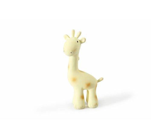 Tikiri Giraf Bijt- en Badspeelgoed met Rammelaar