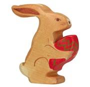 Holztiger Easter Bunny Sitting 80104