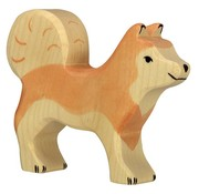 Holztiger Hond Husky 80060
