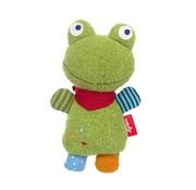 sigikid Knuffel Rammelaar Kikker Flecken Frog