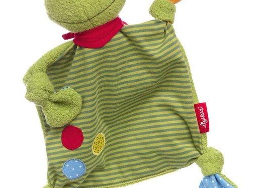 sigikid Knuffeldoek Kikker Flecken Frog