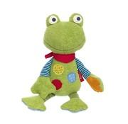 sigikid Knuffel Kikker Cuddly Friend Flecken Frog