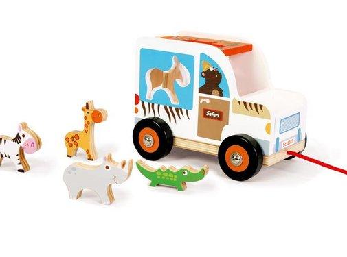Scratch Trekfiguur Sorteerwagen Safari