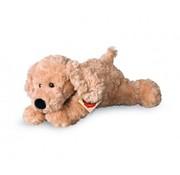 Hermann Teddy Knuffel Hond Beige