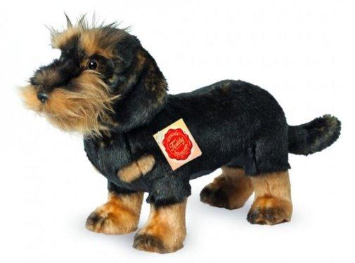 Hermann Teddy Knuffel Hond Ruwharige Teckel