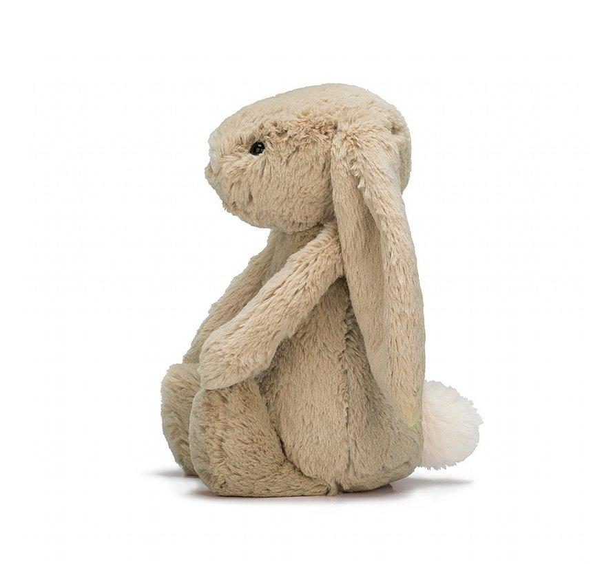 Knuffel Konijn Bashful Beige Bunny Huge