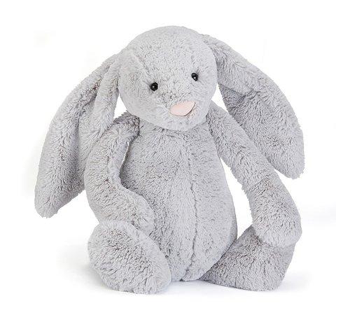 Jellycat Knuffel Konijn Bashful Silver Bunny Huge