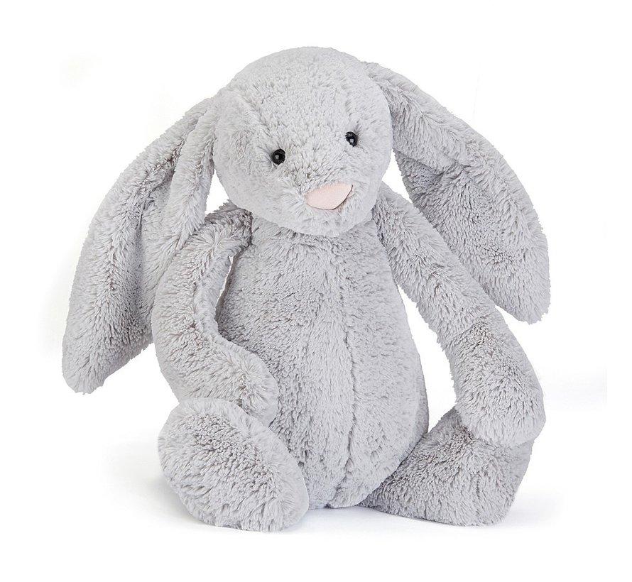 Knuffel Konijn Bashful Silver Bunny Huge