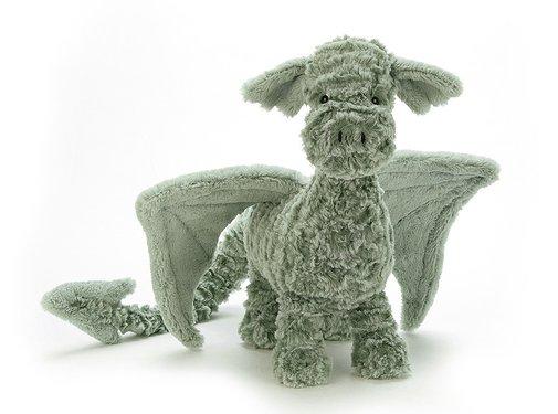 Jellycat Knuffel Draak Little Drake Dragon