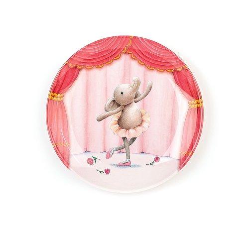 Jellycat Bord Olifant Elly Ballerina Melamine