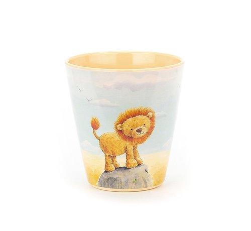 Jellycat Beker Leeuw Very Brave Lion Melamine