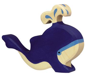 Holztiger Blue Whale 80195