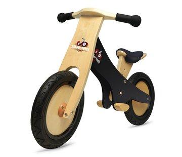 Kinderfeets Loopfiets Classic Balance Bike Zwart