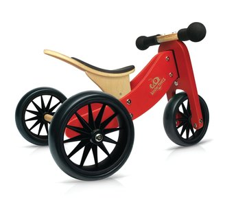 Kinderfeets Loopfiets Trike Tiny Tot Rood