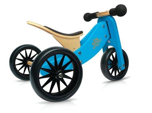 Kinderfeets Loopfiets Trike Tiny Tot Blauw