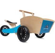 Kinderfeets Bakfeets Cargotrike Blauw