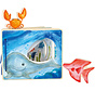 Boek Interactieve Onderwaterwereld Hout