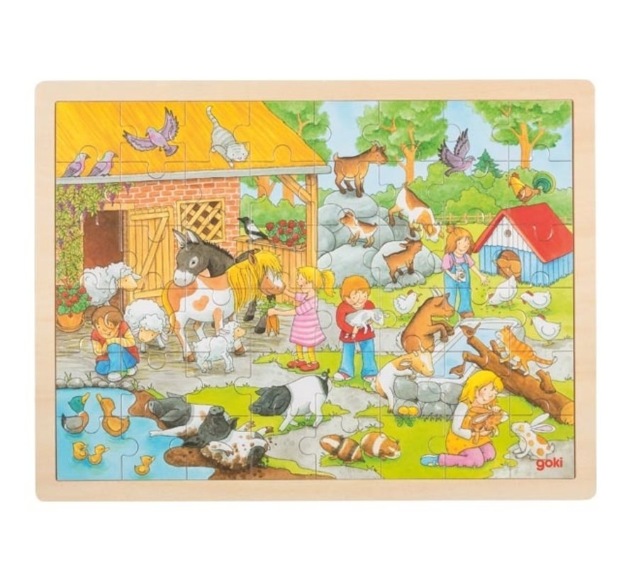 Puzzel Kinderboerderij