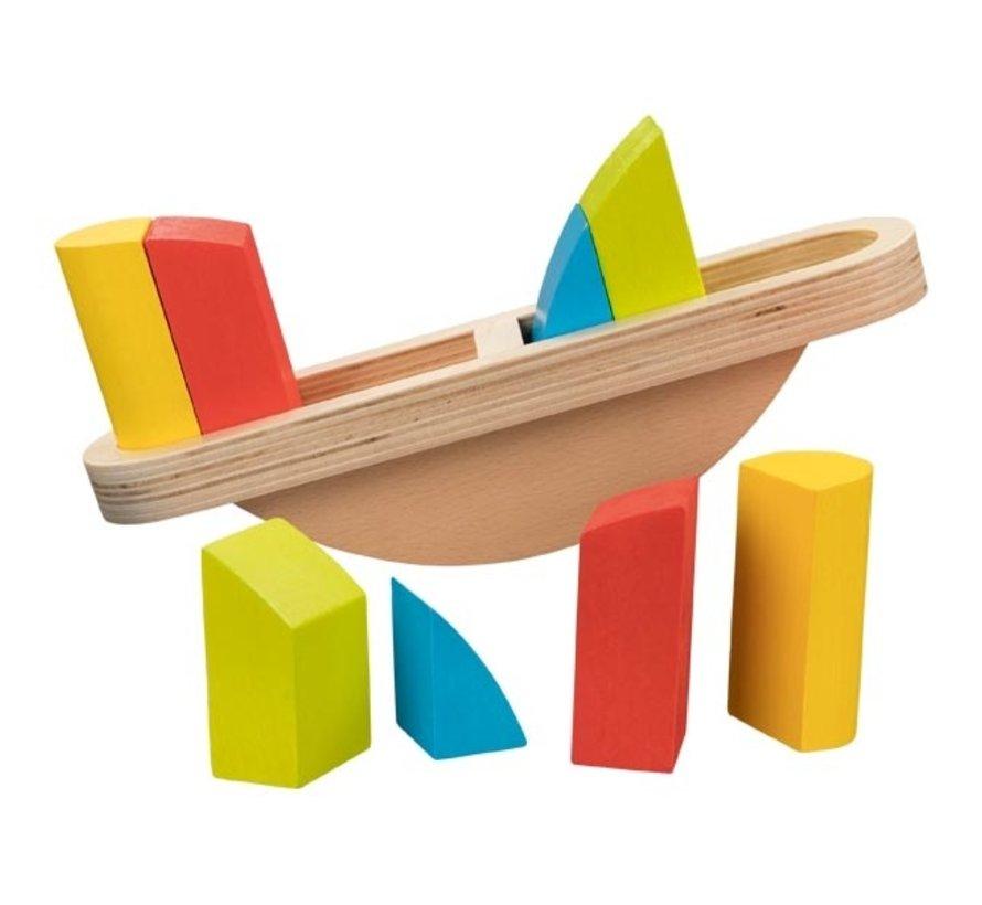 Balanceerspel Kleurenweegschaal