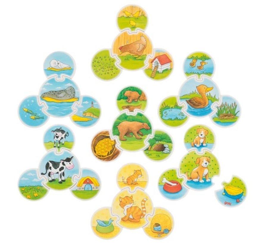 Puzzle Game Animals