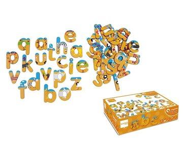 Scratch Letters Magnetisch ABC Safari
