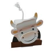 Weizenkorn Spaarpot 3D Koe Hout