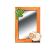 Weizenkorn Spiegel Schaap Hout