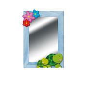 Weizenkorn Spiegel Schildpadden Hout