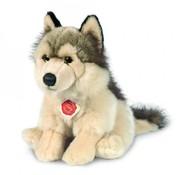 Hermann Teddy Stuffed Animal Wolf