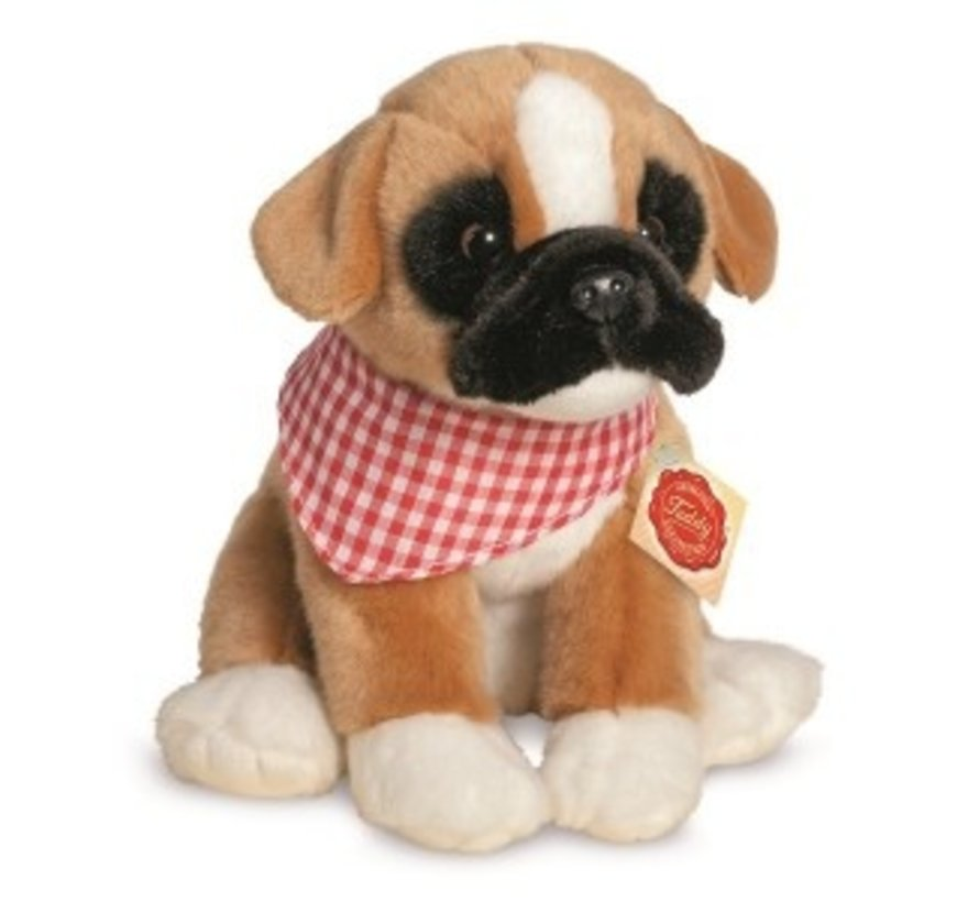 Stuffed Animal Dog Boxer Puppy