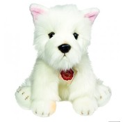 Hermann Teddy Knuffel Hond West Highland Terrier