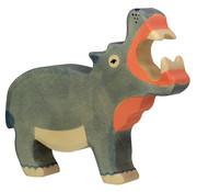 Holztiger Hippopotamus 80160