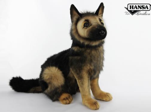 Hansa Knuffel Pluche Duitse Herdershond Pup