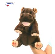 Hansa Knuffel Handpop Nijlpaard