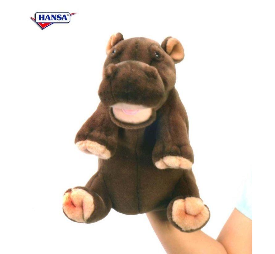 Knuffel Handpop Nijlpaard
