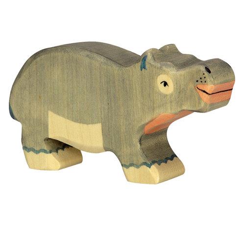 Holztiger Hippopotamus 80162